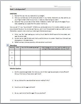 Revision Read-Aloud: FREE Activity for Improving Student Writing