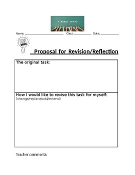 Revision/Reflection