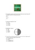 Revision Sheet Year 4