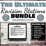 Writing Revision Stations Bundle for Every Genre