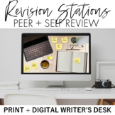 Revision Stations Print + Digital: Writer's Desk Peer and