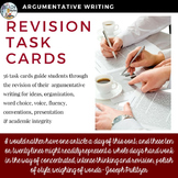 Revision Task Cards for Argumentative Writing