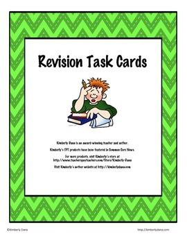Revision Test Prep Task Cards