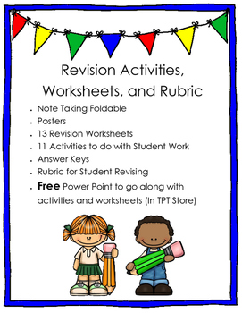 Revision Unit: Activities, Worksheets and Rubric