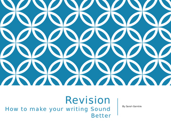 Revision Unit PowerPoint