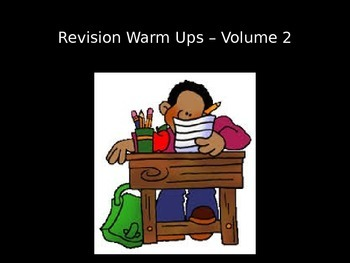 Revision Warm Ups - Volume 2