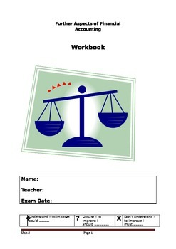 Revision Workbook for further financial accounting