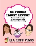 Revision Acronym ~ Steps to Teach How to Revise ~ Middle School ELA