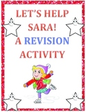 Revision and Editing Activity - Let's Help Sara