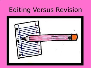 Revision and Editing Bundle