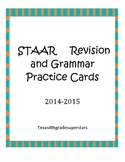 STAAR Writing:  Editing and Revision Cards Part 2