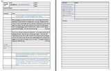 Revision and Editing Practice using Cornell Notes style