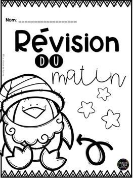 Révision du matin - Noël - 2e cycle