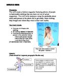 Revista Magazine Project Clothing Vocab and Preterite