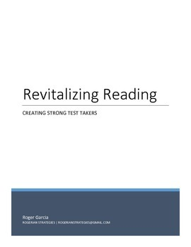 Revitalizing Reading - Creating Strong Test Takers