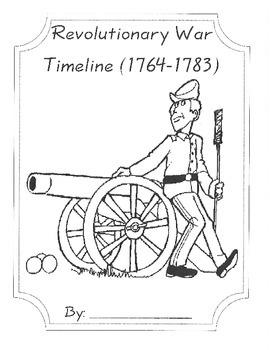 Revoluntionary War Timeline Book