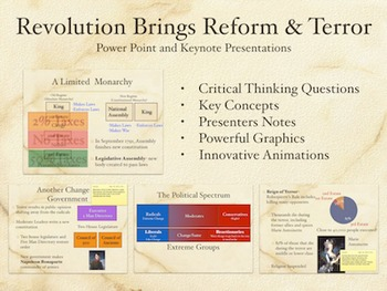 Revolution Brings Reform and Terror PowerPoint Keynote Presentations