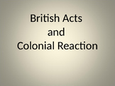 Revolution British Action/Reaction PPT