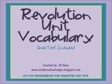 Revolution Vocabulary