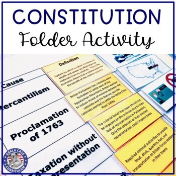 Revolution to Constitution Interactive Activity