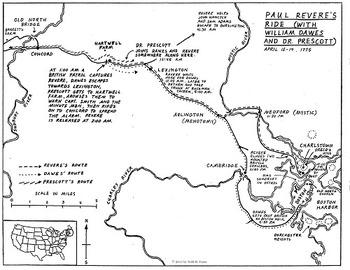 Revolutionary America Map Set