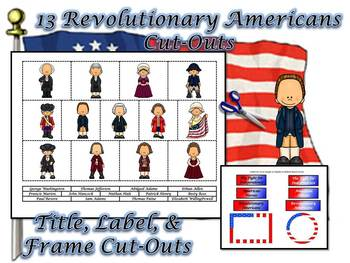 Revolutionary Americans Research Mini-Book Activity Common Core