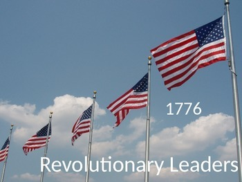 Revolutionary Leaders Powerpoint Presentation