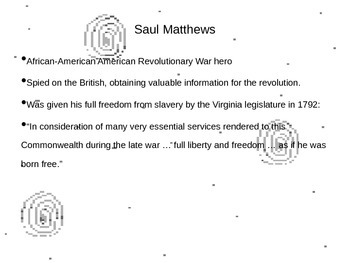 Revolutionary Spies PowerPoint