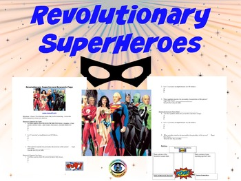 Revolutionary Superheroes