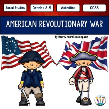 American Revolutionary War w/Articles, Activities, Organiz