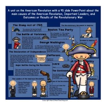 Revolutionary War Powerpoint