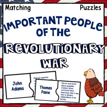 Revolutionary War Activity