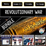 Revolutionary War Bundle {Articles, Activities, Organizers, Vocab & Powerpoint