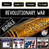 American Revolution: Revolutionary War Activities BUNDLE