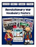 Revolutionary War Vocabulary Posters & Activities