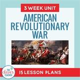 *Revolutionary War: 3 Week Interactive Unit