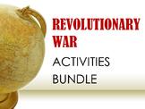 Revolutionary War Activities BUNDLE