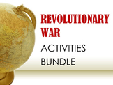 Revolutionary War Activities BUNDLE