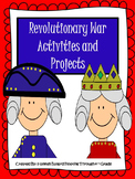 American Revolution- Revolutionary War Activities