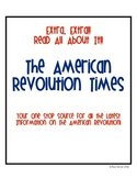 Revolutionary War Article Activity