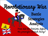 Revolutionary War Battle Strategies Activity - CCSS Aligned