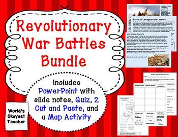 Revolutionary War Battles Bundle