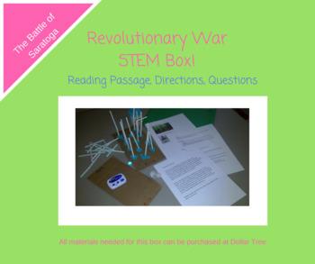 Revolutionary War Battles STEM Box- The Battle of Saratoga