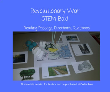 Revolutionary War Battles Stem Box- Lexington and Concord