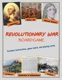 Revolutionary War Board Game