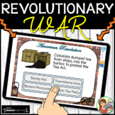 Revolutionary War Boom Cards Distance Learning