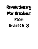 Revolutionary War Breakout Room