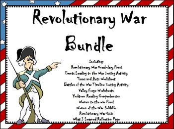 Revolutionary War Bundle