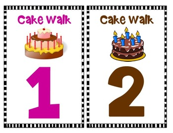 graphic about Cake Walk Numbers Printable named American Revolution Progressive War Cake Wander Match