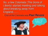 Revolutionary War Causes
